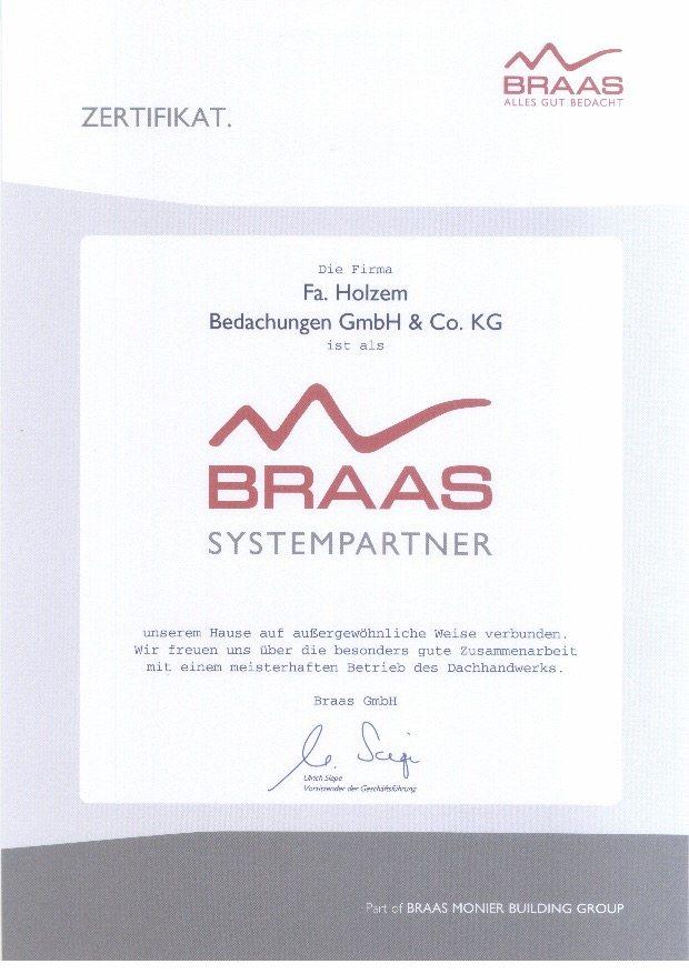 zertifizierter Braas Dachdecker in Bad Neuenahr