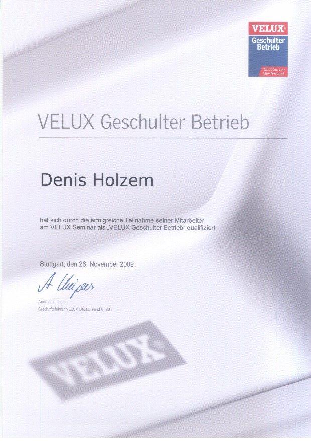 zertifizierter Velux Dachdecker in Bad Neuenahr